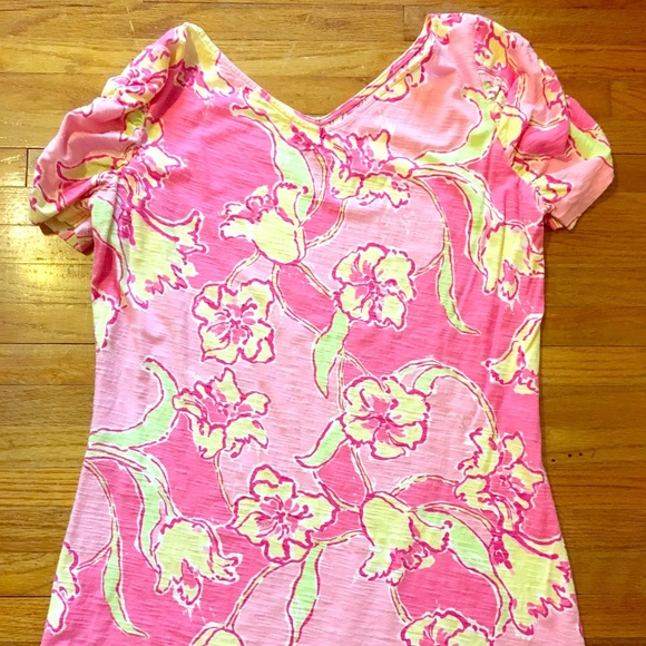 fb82b20d52a1c8 Lilly Pulitzer Tops | Hotty Pink Shirt Size Large | Poshmark